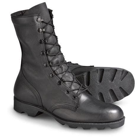 Black Military Boots Military Combat Boots