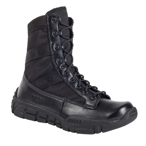 Black Military Boots on Sale Free Size Exchanges Shipping