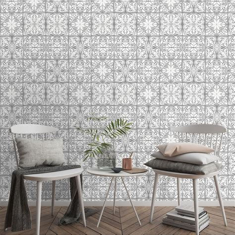 Black and Grey Wallpaper Wallpaper Paste wilko