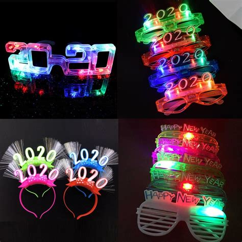 Blinking Christmas LED Lights New Year Eve Party Favors