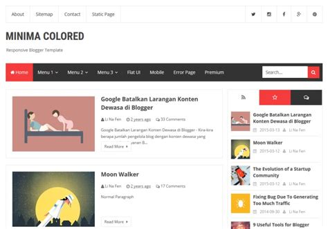 Blogger Templates 2017 Latest Free and Premium Blogger