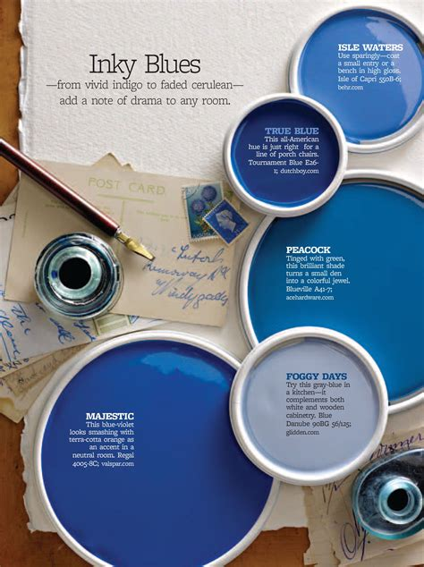 Blue Color Schemes Better Homes and Gardens