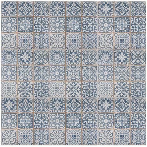 Blue Floor Wall Tiles Joss Main jossandmain