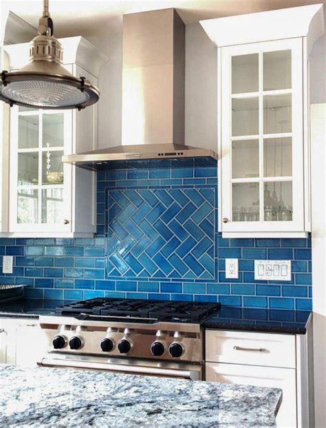 Blue Tile Kitchen Houzz