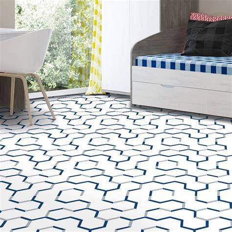 Blue Vinyl Flooring You ll Love Wayfair