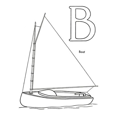 Boats coloring pages Free printable coloring sheets for kids
