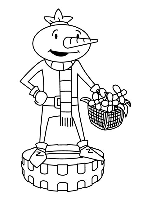 Bob the Builder Coloring Pages Free Printable Coloring