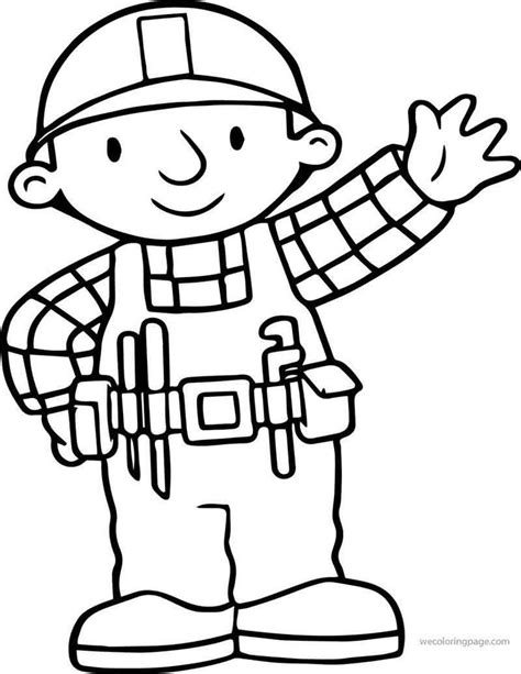Bob the Builder Coloring Pages coloring2print