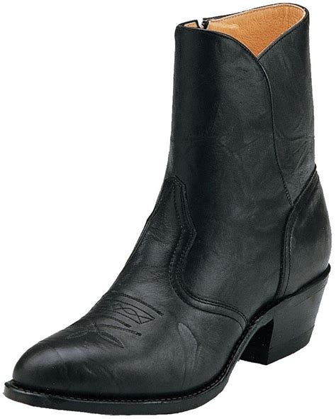 Boulet Men s Cowboy Toe Western Ankle Boots Boot Barn
