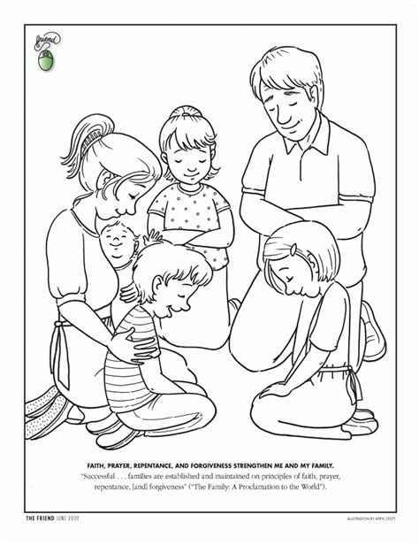 Boy Praying color page Coloring Pages for Kids Free Fun