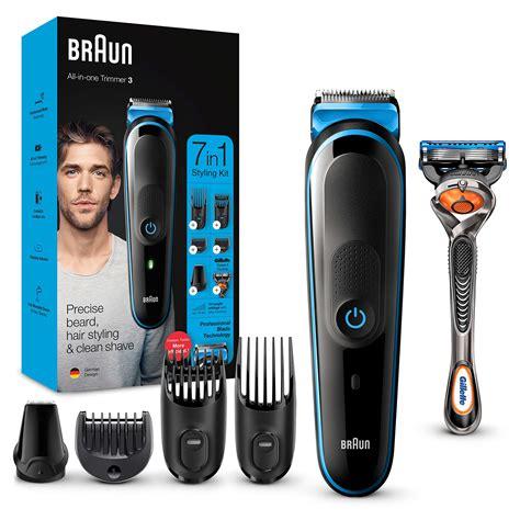 Braun 7 in 1 Beard Hair Trimmer for Men Gillette Body