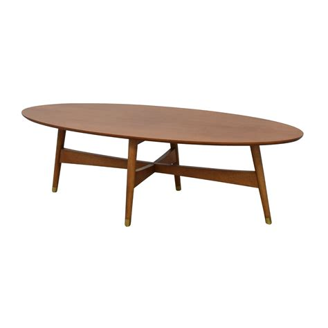 Bridging Ellipse Coffee Table west elm