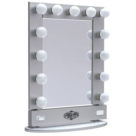 Broadway Lighted Table Top Vanity Mirror