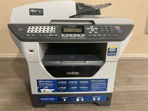 Brother MFC 8690DW All In One Laser Printer eBay