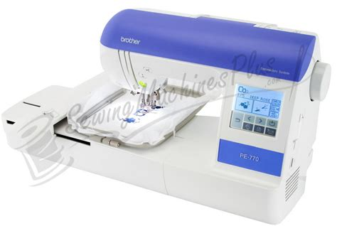 Brother PE 770 Embroidery Machine With USB Port Factory