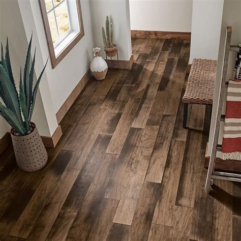 Brown Engineered Hardwood The Home Depot