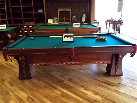 Brunswick Antique Pool Tables Billiard Tables for Sale