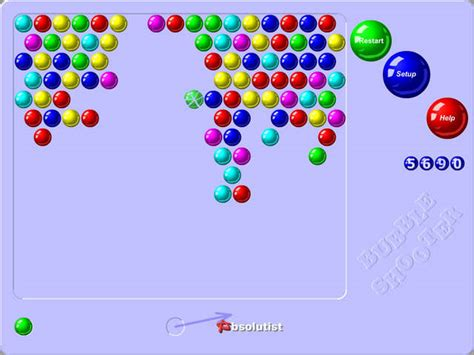 Bubble Shooter Endless Free online games at Agame
