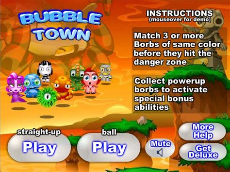 Bubble Town Free Online and Downloadable Games and Free