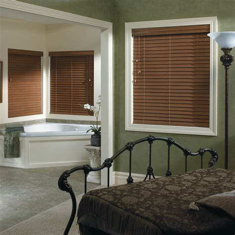 Budget Custom Faux Wood Blinds Window Blind Outlet
