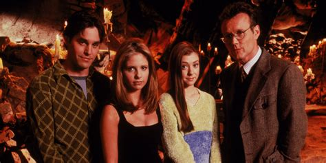 Buffy the Vampire Slayer Scooby Gang Characters TV