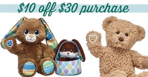 Build A Bear 10 Off 30 Purchase Southern Savers