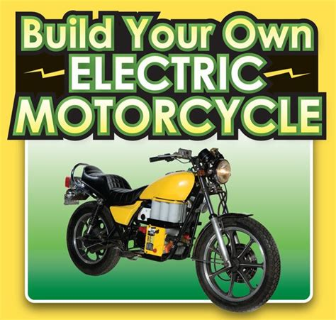 Build Your Own ELECTRIC MOTORCYCLE Instructables