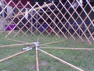 Build Yourself a Portable Home a Mongolian Yurt 9 Steps