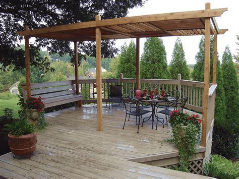 Build a Pergola For a Deck or Patio HGTV