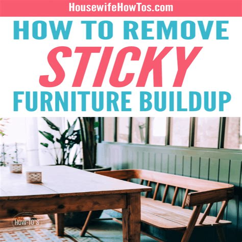 Buildup on Wood Tables jezebel