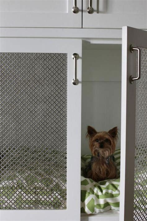 Built In Dog Crate Design Ideas Page 1 DecorPad