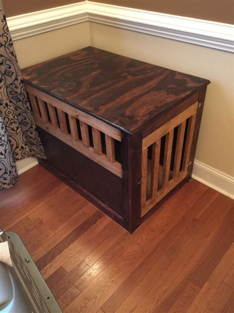 Built In Dog Crates Home Made Modern