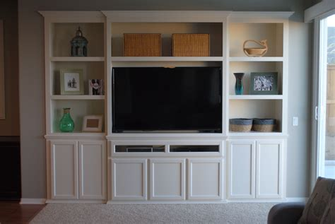 Built in Maple Cabinetry Entertainment Display Centre