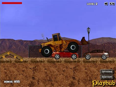 Bulldozer Mania Free online games at Agame