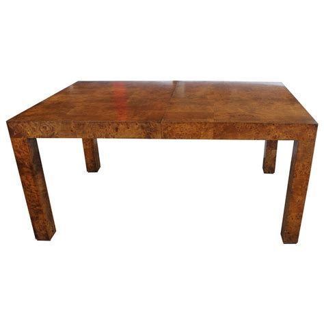 Burl Dining Room Tables 105 For Sale at 1stdibs