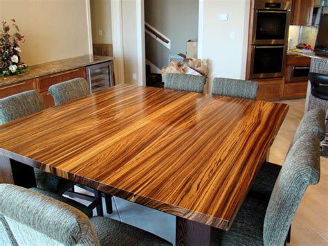 Burl Dining Room Tables Houzz