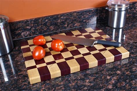Butcher Block End Grain Cutting Board The Wood Whisperer