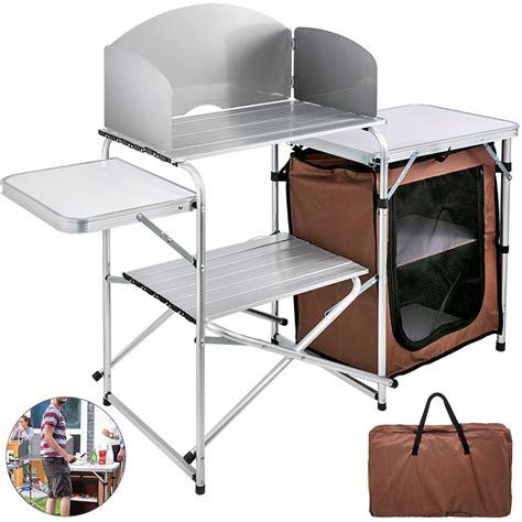 Buy Aluminium Camping Kitchen and Table Set at Argos