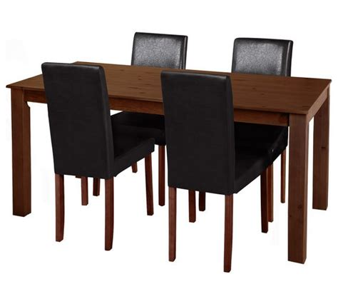 Buy HOME Ashdon Solid Wood Table 6 Mid Back Argos