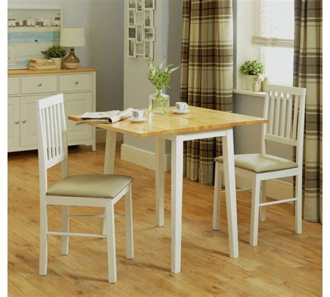Buy HOME Kendall Solid Wood Drop Leaf Table 2 Chairs