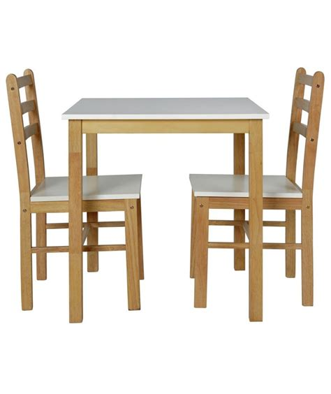 Buy HOME Lily Dining Table and 2 Matching Chairs Argos