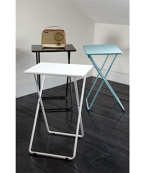 Buy Habitat Airo Metal Folding Table Sea Blue at Argos