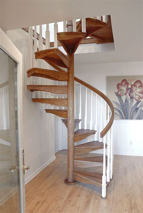 Buy Handcrafted Wooden Spiral Stairs Salter Spiral Stair