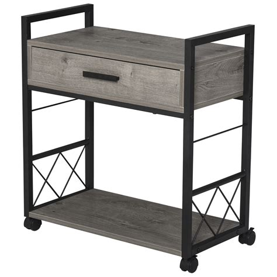 Buy Homcom Wooden Bedside Table Night Stand Bedroom