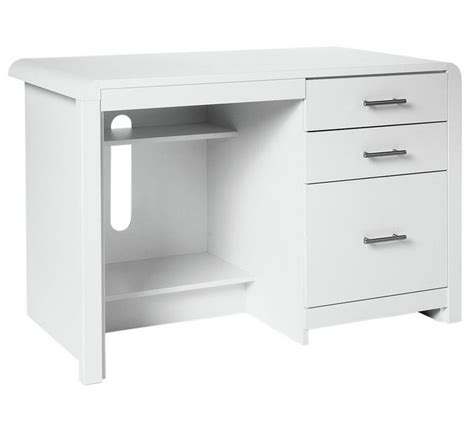 Buy Jarvia 2 Drawer Office Desk White at Argos