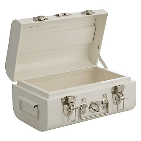 Buy John Lewis Croft Collection Metal Trunk Small