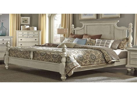 Buy Pine Oak Solid Wood White Cream Bedroom Furniture