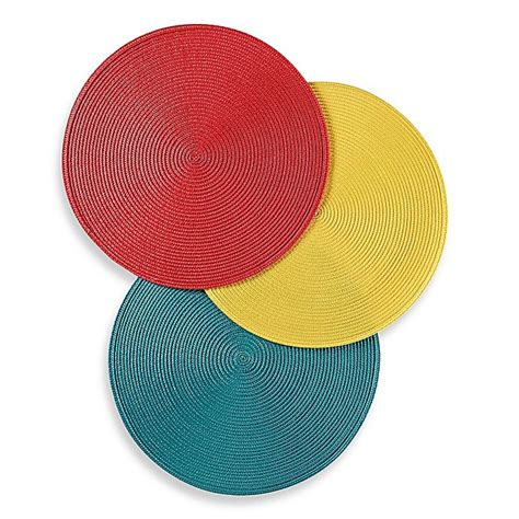 Buy Placemat Round Table from Bed Bath Beyond