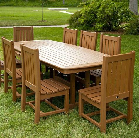 Buy Polywood Dining Table Outdoor Dining Sets Polywood