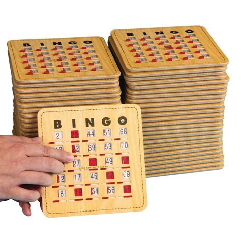 Buy Quick Clear Bingo Slide Card at S S Worldwide